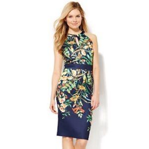 NY&C Midi Floral Halter Dress
